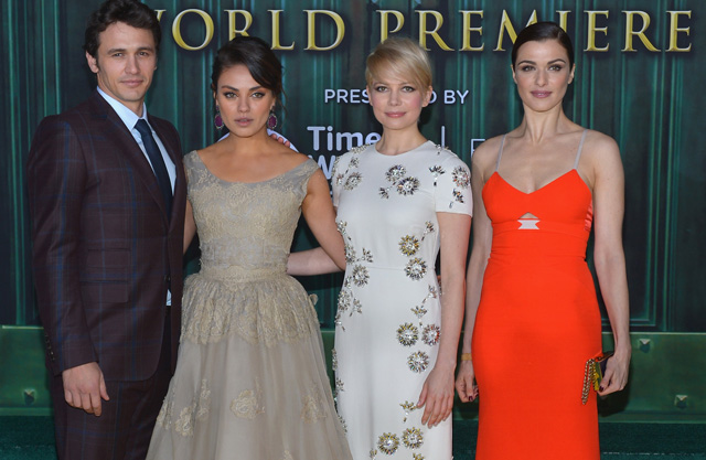 Walt Disney Pictures Premiere Of &quot;Oz The Great And Powerful&quot; - Red Carpet